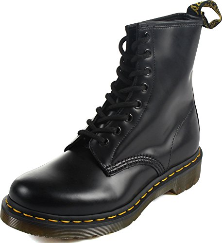 Dr. Martens Womens 1460W Originals Eight-Eye Lace-Up Boot, Black Smooth Leather, 6 M US/ 4 UK]()