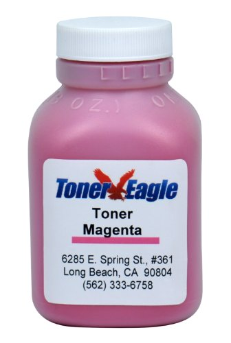 Lexmark CX310 CX310dn CX310n Magenta Toner Refill Kit with Chip. 60gr. By Toner Eagle (US/Canada) (Magenta Refill Toner Chip)