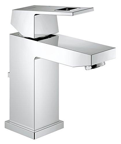 Eurocube Centerset Single-Handle Single-Hole Bathroom Faucet