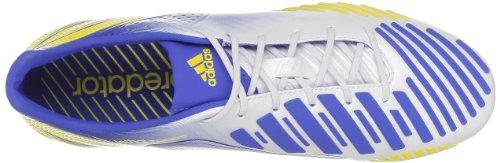 adidas G65168, Scarpe da Calcio Uomo Bianco (Vivid Yellow S13)