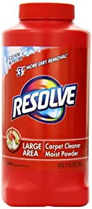 Resolve Carpet Cleaner Powder for Dirt and Stain Removal, 18 oz