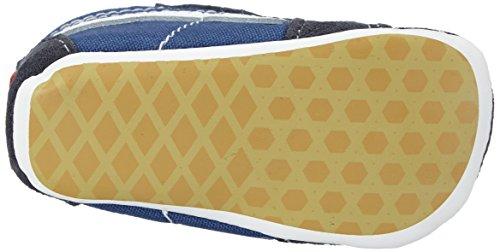 Vans Sk8-Hi - zapatos para bebés y niños pequeños (Chica, Sneakers azul - Bleu (navy/navy)
