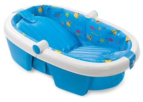 Summer Infant Toddler la naissance à escamotable Baby Bath