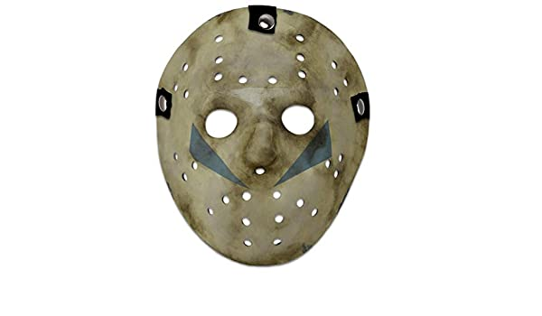Close Up Máscara réplica Friday The 13th Part 5 - Jason: Amazon.es: Hogar