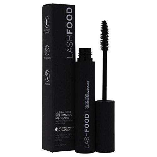 LashFood Ultra Rich Volumizing Mascara - Black Mascara For Women 0.27 oz