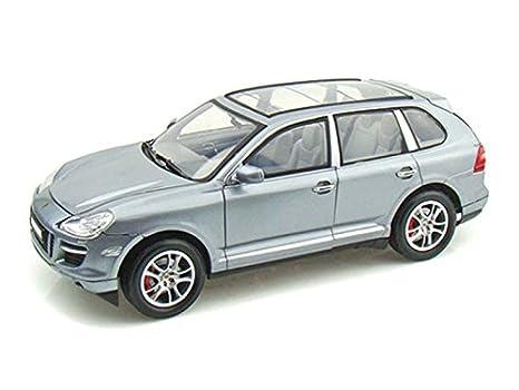 Porsche Cayenne Turbo 1/18 Silver