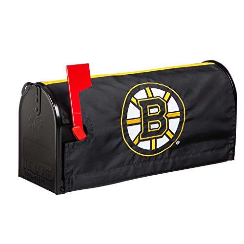 Team Mailbox Cover (Team Sports America Boston Bruins Applique Mailbox Cover)