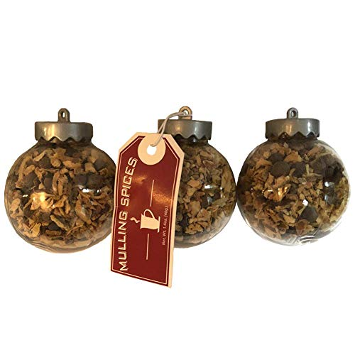 (Christmas Mulling Spice Ornaments Set of 3)