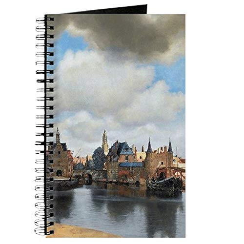 (CafePress Vermeer Delft Spiral Bound Journal Notebook, Personal Diary, Dot)