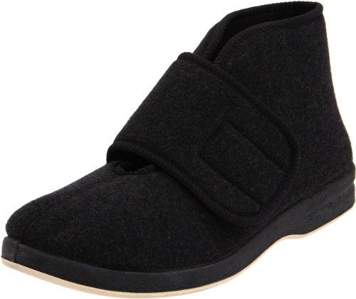 Foamtreads Mens Tradition Black Wool