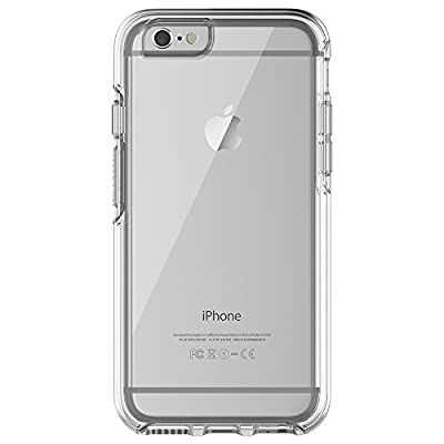 "OtterBox SYMMETRY CLEAR SERIES Case for iPhone 6/6s (4.7"" Version) - Retail Packaging - CLEAR (CLEAR/CLEAR)"