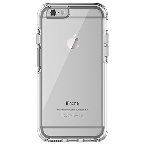 "Price comparison product image OtterBox SYMMETRY CLEAR SERIES Case for iPhone 6/6s (4.7"" Version) - Retail Packaging - CLEAR (CLEAR/CLEAR)"