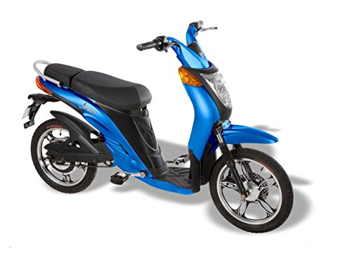 Jetson Lithium Ion Powered Eco-Friendly Electric Bike - Blue