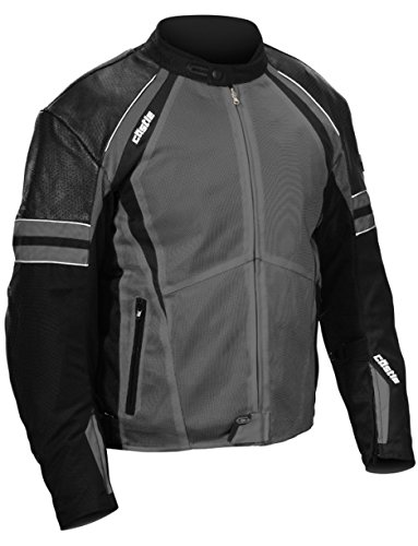 - Castle Contact Motorcycle Jacket - Gray - Large