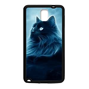 super shining day Best Animals Cat Art Samsung Galaxy Note 3 N9000 Back Covers With TPU Material Material