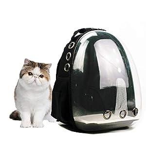 Lyn's Pet Carrier, Hard-Sided Pet Bag, Cat/Dog Bubble Backpack, Pet Travel Bag, Small Space Pet Capsule Knapsack…