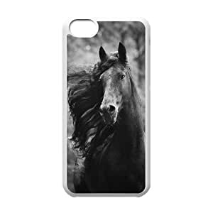 Personalized New Print Case for Iphone 5C, Galloping Horse Phone Case - HL-R670030