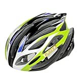 MCH- FJQXZ Integrally-molded EPS+PC Green Cycling Helmets (21 Vents)