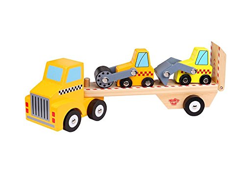 Tooky Toy Construction Vehicle & Carrier Children Toys by Tooky Toy
