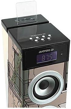 Avenzo AV6095IG - Torre de Sonido: Amazon.es: Electrónica