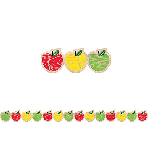 Creative Teaching Press Upcycle Style Apples Border (8381) ()