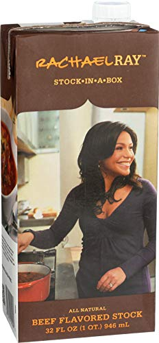 Rachael Ray Stock-In-A-Box Rachael Ray Beef Flavored Stock, 32-Ounce (Pack of12) from Rachael Ray