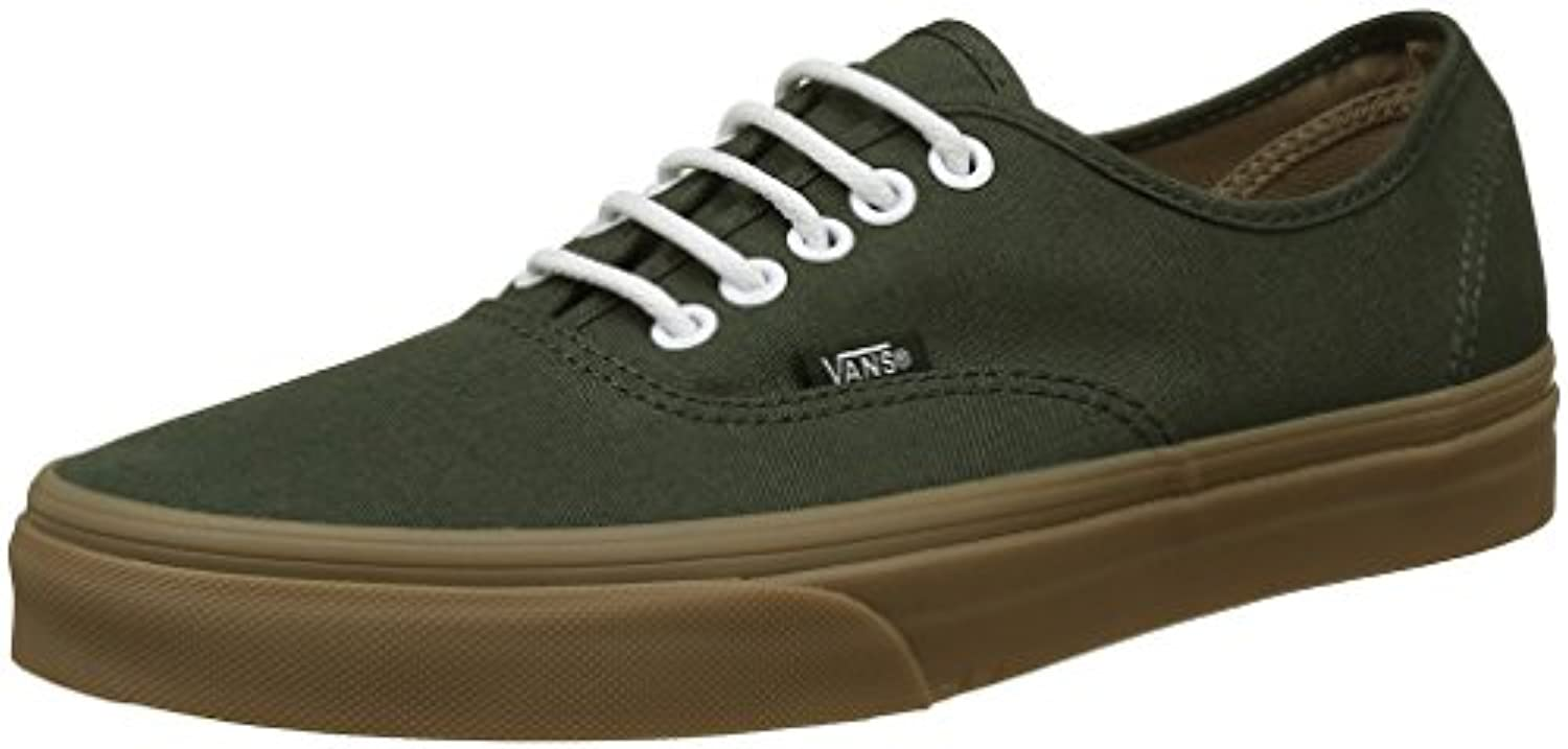 Vans Unisex Adults' Authentic Low-Top Sneakers, Blue (Midnight Navy/True White), 2.5 UK