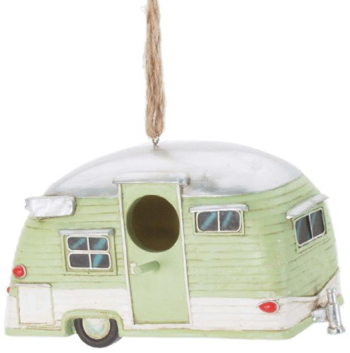 Spoontiques Trailer Birdhouse made our list of Camping Gifts For Mom Fun And Unique Mother's Day Gift Idea Guide For Camping Moms