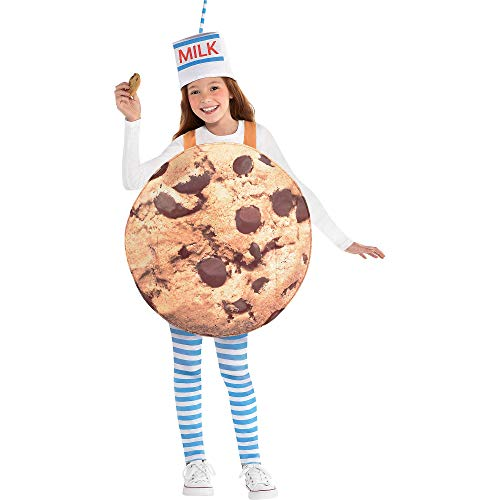 Suit Yourself Cookies & Milk Halloween Costume for Kids, Standard Size, with -