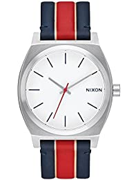 Unisex Time Teller White/Stripes Watch