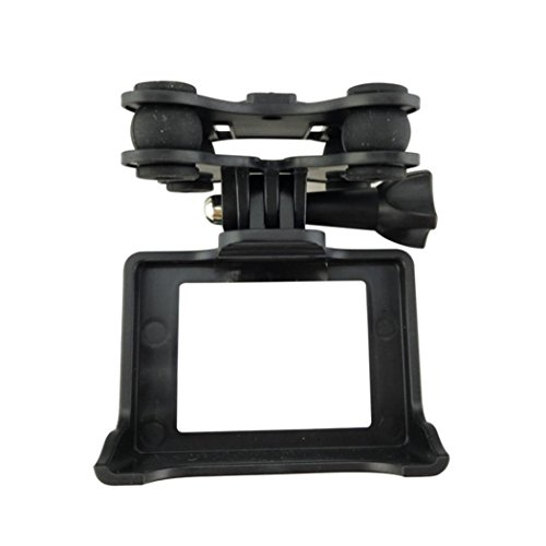 [Syma Accessory] Camera Holder With Gimble/Gimbal For MJX B3 For Syma Quadcopter Drone Helicopter (Black)