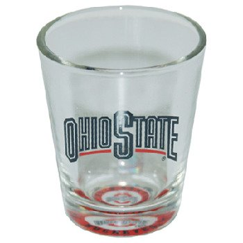 Bama Ohio State Buckeyes Bullseye Shot Glass