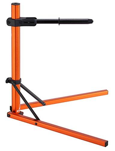 Granite Hex Stand, Axle Support Bike Stand (Orange)