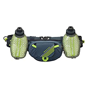 Nathan Trail Mix Plus Insulated Hydration Belt, Bluestone, One Size