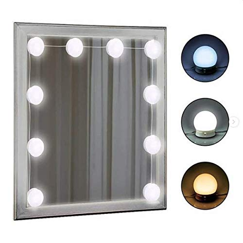 Lvyinyin Vanity Mirror With Lights Hollywood Makeup