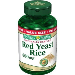 Bounty Red Yeast Rice Nature 600mg, 120 capsules