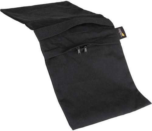 4 Pack Black Cordura Impact Empty Saddle Sandbag 35 lb