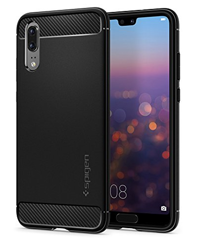 Spigen Rugged Armor HUAWEI P20 Case with Flexible...