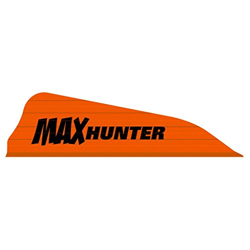 AAE Max Hunter Fire Vane (100 Pack), Fire Orange