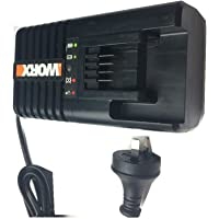 WORX WA3860 20 Volt 20V Lithium Charger For WA3550 WA3550.1 WA3551 lithium battery