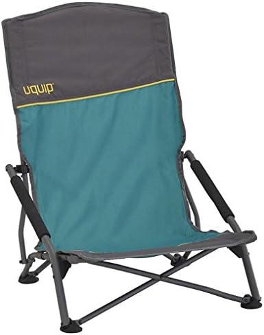 Uquip Sandy XLOpvouwbare Comfortabele Strandstoel Met Extra Hoge Rugleuning