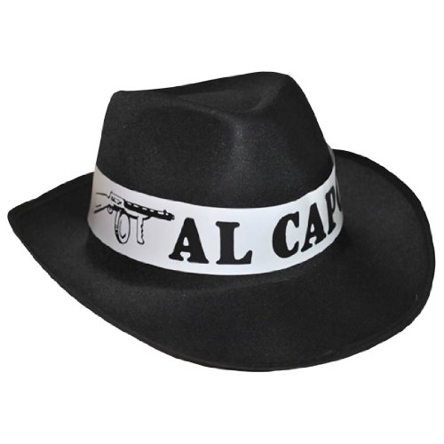 John Dillinger Halloween Costume (Adult Capone Hat - Adult Std.)