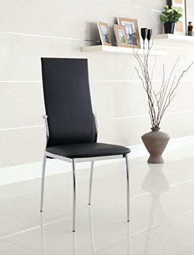 WILLIAMS HOME Furnishing CM8310BK-SC-2PK Kalawao Side Chair, Black