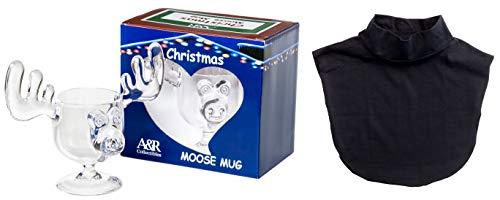 Cousin Eddie Combo - Christmas Moose Mug and Black Dickie