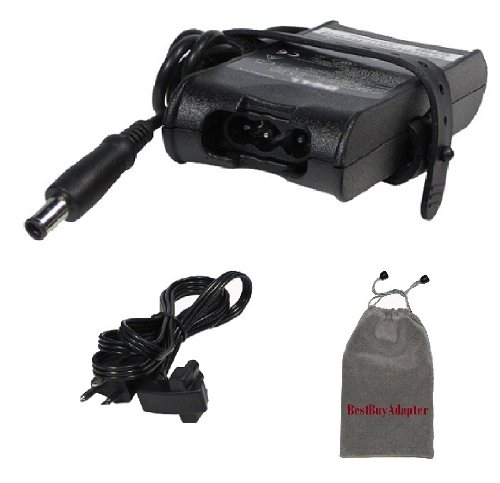 Bundle: 3 items - Adapter/Power Cord/Carry Bag:Dell 19.5V 3.34A 65W Replacement AC Power Adapter for Dell XPS: 14(L401X),M1210,M140,15(L501X),M1210,M1330,M1530(Product)Red,100% Compatible with PA-12 Family,***Carry Pouch Included***