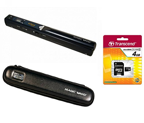 VuPoint Handheld Magic Wand Portable Scanner Deluxe Kit with Bonus Software Suit
