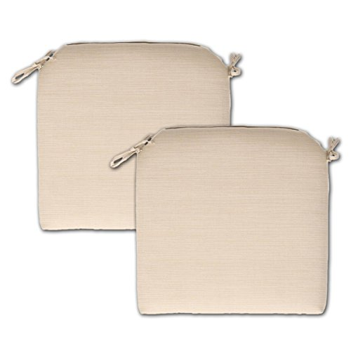 Oatmeal Cushions Seat (Set of 2 Outdoor Seat Cushions 21