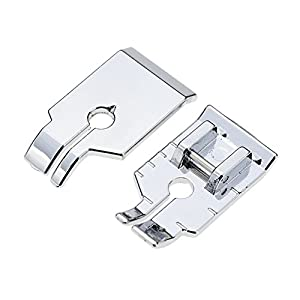 STORMSHOPPING 1/4'' (Quarter inch) Quilting Patchwork Sewing Machine Presser Foot for All Low Shank Snap-On Singer, Brother, Babylock, Euro-Pro, Janome, Juki, Kenmore, Home, White, Simplicity by STORMSHOPPING