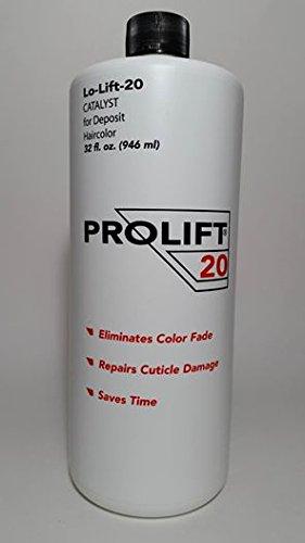 Lift 20 Volume Standard - Case of 12 -32oz Bottles - Prolift Enzyme Developer 20 Volume Clear