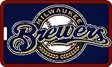 aminco Milwaukee Brewers - MLB Soft Luggage Bag Tag